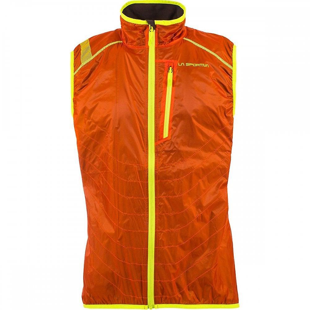 La Sportiva Hustle Vest Mens Lightweight & Breathable Gilet For Running/mountaineering