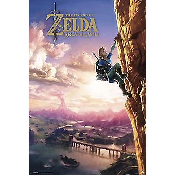 Poster - Studio B - Zelda - Climbing 36x24