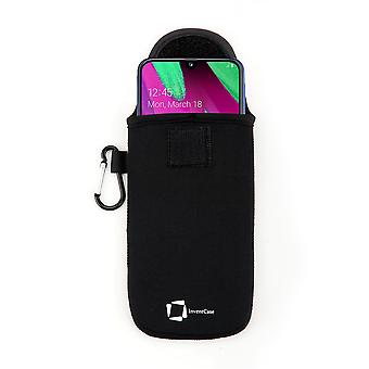 InventCase Neoprene Protective Pouch Case for Samsung Galaxy A40 2019 - Black