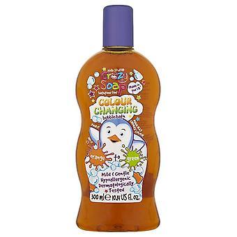 Детские вещи сумасшедших Soap цвета изменяя пузырь ванна ~ оранжевый зеленый