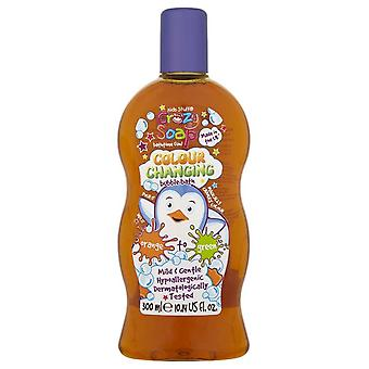 Kids Stuff Crazy Soap Colour Changing Bubble Bath ~ Orange To Green