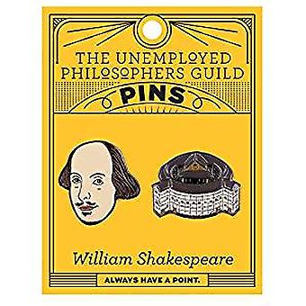 Pin Set - UPG - Shakespeare and The Globe 5081