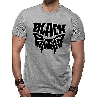 Black Panther Adults Unisex Logo T-Shirt