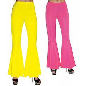 Hippie battant pantalon femme costume de style bas pantalon de style années 70