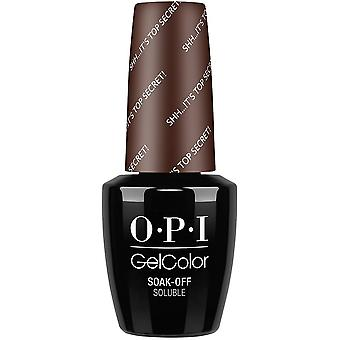 OPI GelColor gel kleur-geniet van gel Polish-shh haar Top Secret 15ml (GC W61)