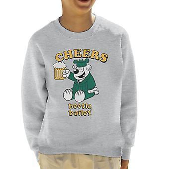 Beetle Bailey Otto Cheers Kid's Sweatshirt