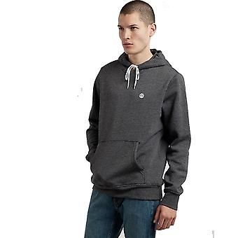 Element Cornell Classic Pullover Hoody in Charcoal Heather