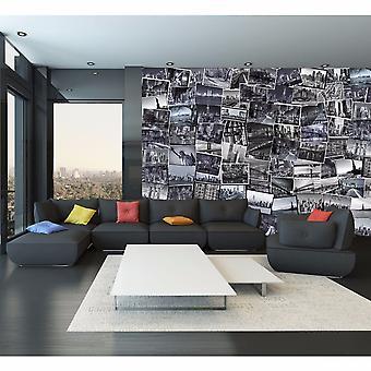 Creative Collage New York Big Apple Designer Wall Mural - 64 Piece