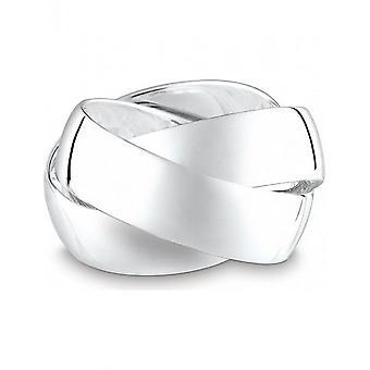 QUINN - Ring - Kvinder - Klassikere - Sølv 925 - Bredde 58 - 0225567