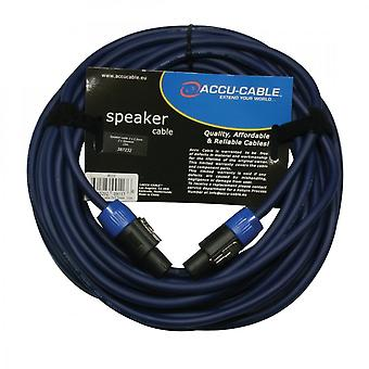 Accu-kabel accu-kabel 422: Speakon naar Speakon 15m kabel