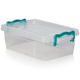 Hobby leven 2 liter MIDI multi plastic opbergdoos [platte multi box #0]