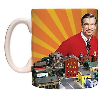 Mug - Mister Rogers - Neighborhood 15oz Coffee Cup New cmg15-mr-town