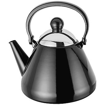 Judge Induction, Black Stove Top Kettle, 1.5 Litre