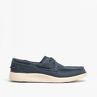 Skechers Status 2.0 Former Mens Deck Shoes Navy