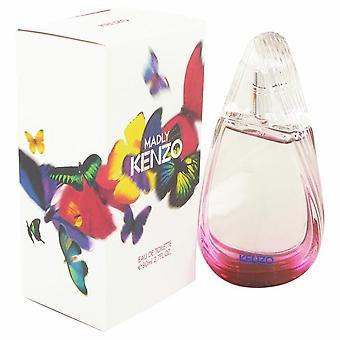 Madly Kenzo Eau De Parfum Spray By Kenzo 80 ml