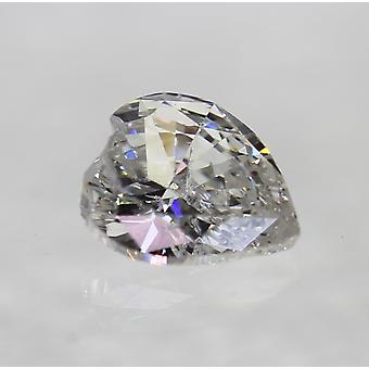 Certified 0.28 Carat D Color SI1 Heart Shape Natural Loose Diamond 4.75x4.13mm
