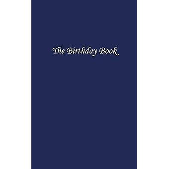 The Birthday Book Dark Blue by Bowman & N P