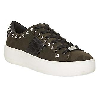 Steve Madden Belle Ladies Casual Trainers Camo