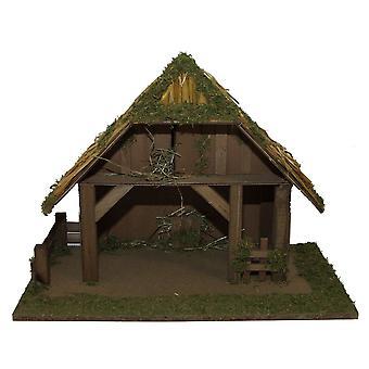 Spjälsäng trä spjälsäng Christmas spjälsäng Christmas julkrubba jul dekoration