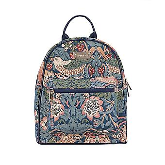 William morris - strawberry thief blue daypack by signare tapestry / dapk-stbl