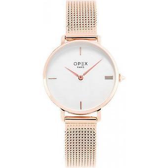 Opex OPW037 Watch - ROTONDE Dor Rose Bo Tier Steel Steel Pink Women