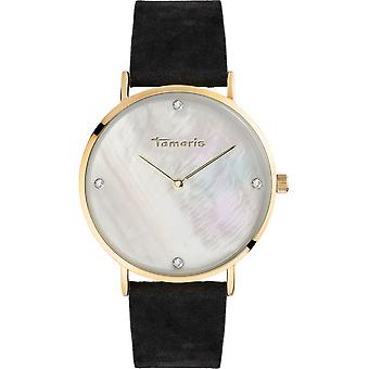 Tamaris - wristwatch - Anika - DAU 40mm - gold - ladies - TW010 - black gold silver