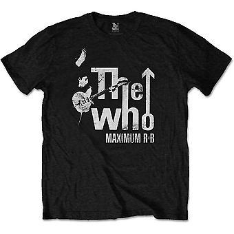 חולצת הרוק הרשמי של מקסימום R & B פיט טאונסנד