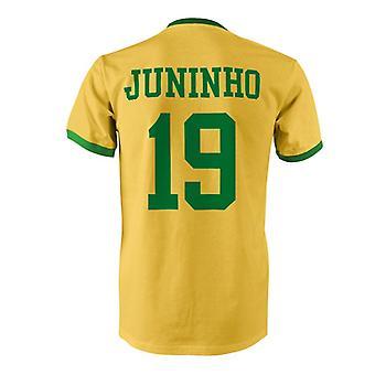 Juninho 19 Brasilian maan Ringer t-paita