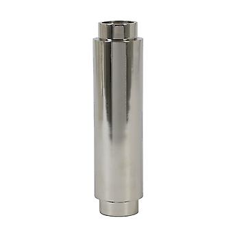 Light & Living Tea Light Holder 6x25cm - Nakuru Nickel