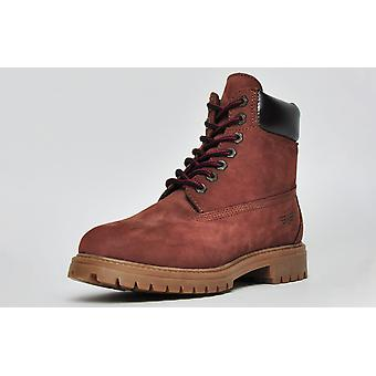Red Tape Buckland Leather Oxblood Nubuck