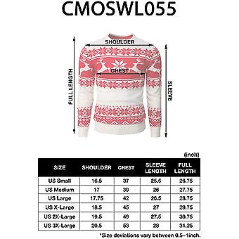 H2H Mens Casual Slim Fit Knitted Crew Neck Sweaters Thermal of Various Christ...