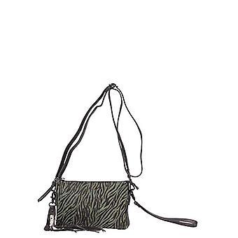 Legend COMO-A Multicolor Women's Bag (Gr n-schwarz 0137)) 4x13x19 cm (B x H x T)