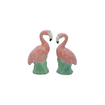 Streamline NYC Flamingo Salt & Pepper Set