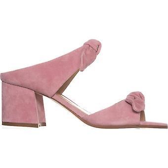 Ivanka Trump Womens Eria Leather Open Toe Casual Slide Sandals