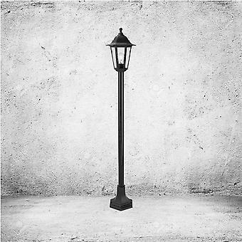 Firstlight Staid Geleneksel Black Garden Post Işık