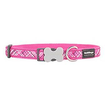 Red Dingo Dog Collar Flanno Hot Pink (Dogs , Collars, Leads and Harnesses , Collars)