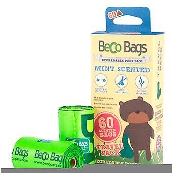 Beco Bolsas Mint 4 rollos x 15 bolsas