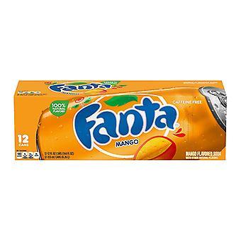 Fanta Oss Mango-( 355 Ml X 12 Bokser )