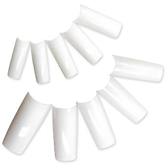 500 French White False Nail Tip UV Gel/Acrylic BOO2