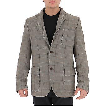 Junya Watanabe Wdj0530511 Men-apos;s Grey Wool Blazer