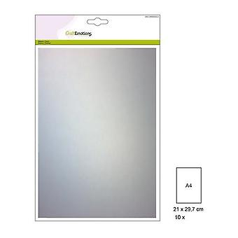 CraftEmotions Transparant papier - perkament 10 vellen A4 140GR