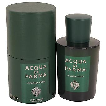 Acqua Di Parma Club Colonia Eau De Cologne Spray de 3.4 oz Eau De Cologne vaporizador de Acqua Di Parma