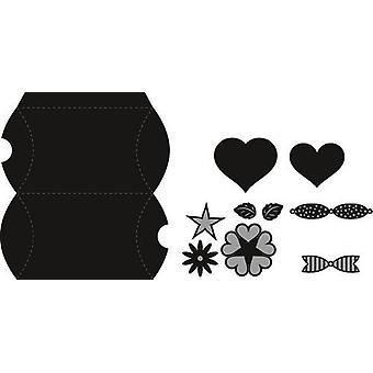 Marianne Design Craftables Cutting Dies - Pillow Box CR1386