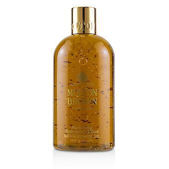 Mesmerising oudh accord & gold bath & shower gel 231082 300ml/10oz