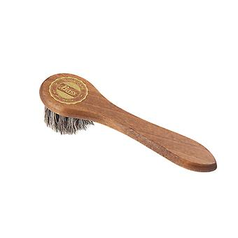 Bass Applicator Brush Natural Horsehair voor laarzen en schoenen