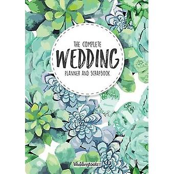 Wedding Planner Book  The Complete Wedding Guide Green Succulent Cover by Gibson & William C