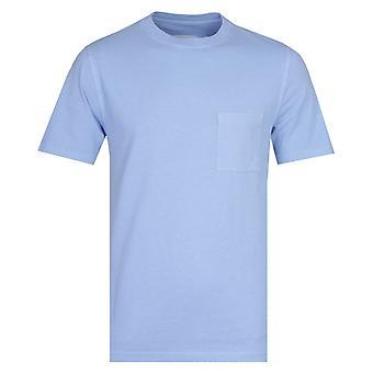 Albam Arbejdstøj lyseblå kortærmet T-shirt