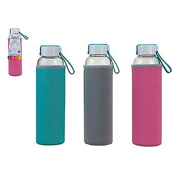 MyBento 550ml Glass Eco Bottle with Neoprene Cover