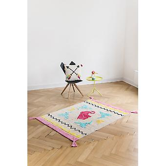 Rectangle carpet Nappine baby room 120x170cm Origami Mosaic