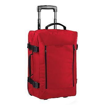 Bagbase fly Dual-Layer stuga Wheelie Travel Bag/resväska (40 liter)